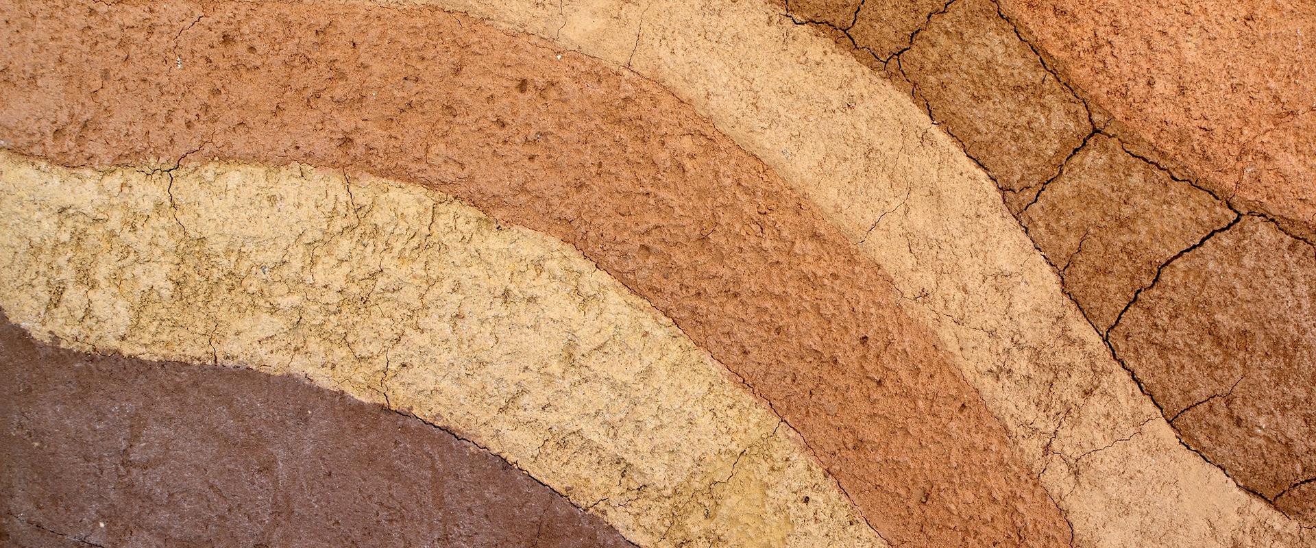 12567845 - layer of soil underground